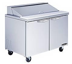 36 inch sandwich prep table amazon com kool it kst 48 2 stainless steel sandwich prep table 48