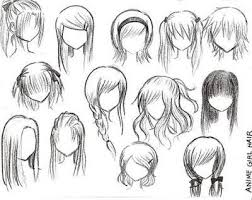 names of anime inspired hair styles best 25 drawing hairstyles ideas on pinterest anime hair