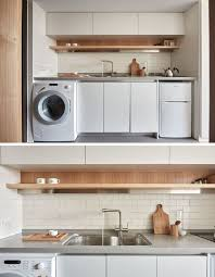 Studio Flat Cupboard Kitchen Small Best 25 Apartment Washer Ideas On Pinterest Apartment Washer