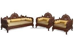 Wooden Sofa Legs Online India Design Carving Teak Wooden Maharaja Sofa Sets Pearl Handicrafts