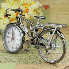 Diy Bike Desk New Brown Analog Travel Desk Alarm Clock Diy Bicycle Bike Model