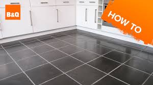 B And Q Flooring Laminate How To Tile A Floor Part 1 Preparation Youtube