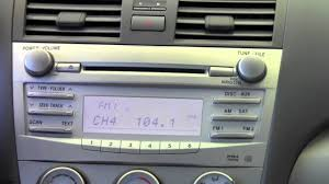 2011 toyota camry radio controls how to by toyota city