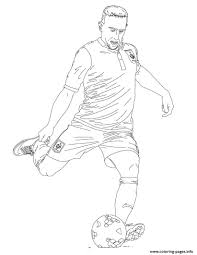 franck ribery france soccer coloring pages printable