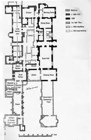 littlecote house wiltshire 1960s ground floor plan floor plan