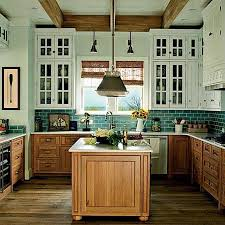Raw Character Kitchens With Natural Wood Cabinets - Raw kitchen cabinets