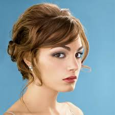 short hairstyles haircuts for thick female bridesmaid with