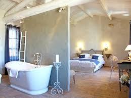 chambre salle de bain suite parentale avec salle de bain ouverte déconseillé salle à