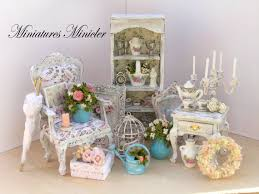 Shabby Chic Dollhouse by 1073 Best Miniatures 4 Images On Pinterest Dollhouses Miniature