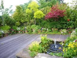backyard garden ideas landscaping woohome small design plans lawn