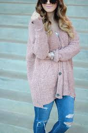 textured blush pink sweater between two coasts