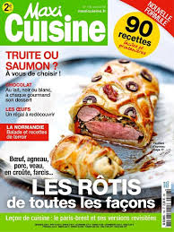 maxi cuisine recette achat magazine maxi cuisine n 106 en numérique