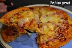 jeux de cuisine de pizza au chocolat recette de pizza express la recette facile