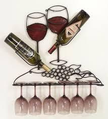 stylish wall mounted wine glass rack wall mounted wine glass