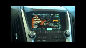 how to use your 2012 chevy equinox radio youtube