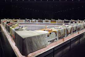 judy chicago dinner table nyc nyc judy chicago s the dinner party an icon of feminist