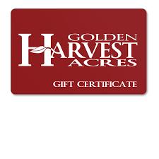 digital gift card digital gift cards golden harvest acres