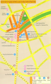 Map Of Shanghai China by Sketch Map Of Xujiahui History And Cultural Tourist Attractions