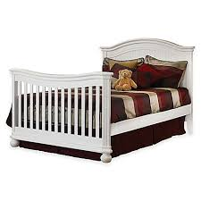 sorelle providence finley tuscany full size bed rails in white