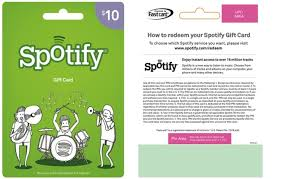 gift cards on line how to use spotify gift card