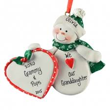 granddaughter grandson ornaments gifts