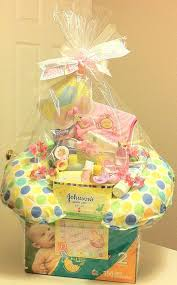 baby shower gift charming baby girl shower gift baskets 82 in baby shower