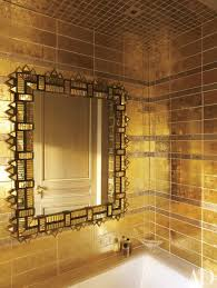 Silver And Gold Decor Ideas Metallic Home Design Photos - Designer bathrooms by michael