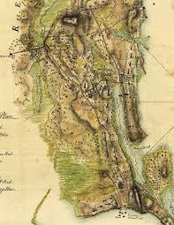 Boston Map 1776 by Historic Pelham Account Of The Revolutionary War Battle Of