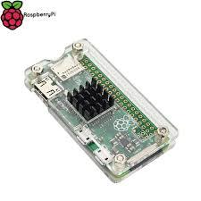 raspberry pi heat sinks raspberry pi zero w wireless acrylic case with heat sink clear black
