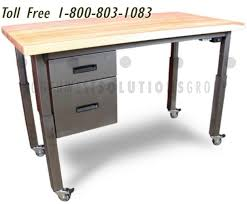 Height Adjustable Meeting Table Technical Lab Furniture Sit Stand Adjustable Heavy Duty Conference
