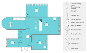 lighting and switch layout reflected ceiling plan classroom