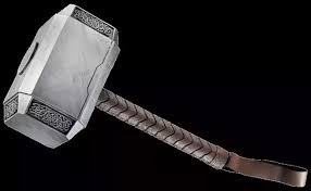 what material is thor s hammer made up of quora