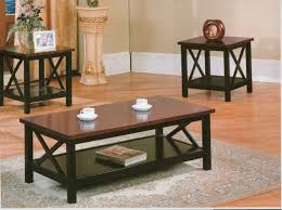 black coffee and end tables roundhill furniture
