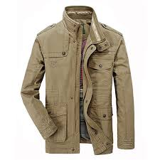 jeep rich jacket 2017 autumn men jeep rich cotton blend zipper warm outdoor coat