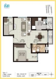 1 bhk floor plan 1 bhk 2 bhk and 3 bhk apartments in coimbatore sobha elan