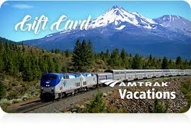 vacation gift cards gift cards amtrak vacations