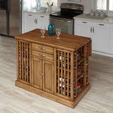 home styles vintner warm oak kitchen island with storage 5047 94