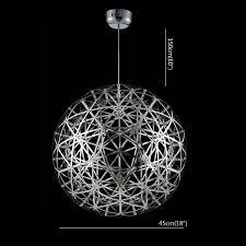 Home Ceiling Lighting Design Lightinthebox 60w Artistic Modern Pendant With 4 Lights In Glass
