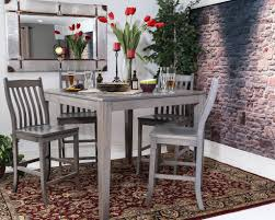 solid wood counter height dining table with concept hd images 3021