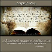 from bible study this week the christian meaning of forgive the