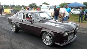 Ford Capri 1971 Ford Capri 2jz 12 2s 191kmh In The Rain With Clutch Slipping And