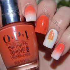 orange creamsicle nails the polished mommy