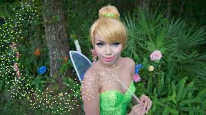 Fairy Halloween Makeup Ideas by Tinker Bell Make Up Tutorial Youtube