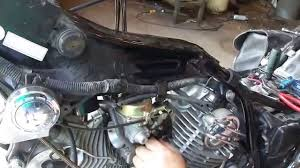 yamaha virago carb removal and install 87 99 youtube