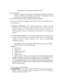 describe thesis midterm exam in research methodology experiment scientific method