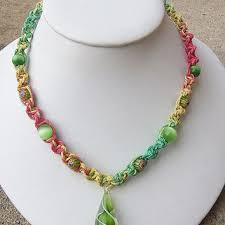 hemp necklace pendants images Shop glass beads for hemp necklaces on wanelo jpg