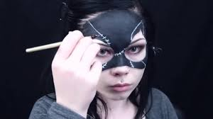 Batman Halloween Makeup by Catwoman Mask Makeup Halloween Costume Tutorial Requested