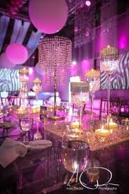 Disco Party Centerpieces Ideas by Club Theme Party Ideas Vip Pass Bar Mitzvah Escort Table U0026 Place