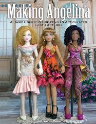 doll design book doll class cloth articulated art doll tutorial course book