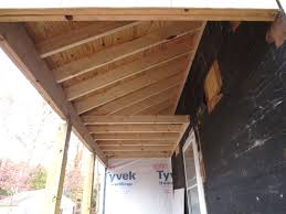 the porch ceilings are installed u2013 let u0027s face the music